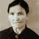 Маркова Анна Дмитриевна, мама Серафима Николаевича