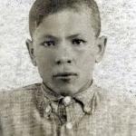 Марков Серафим Николаевич в детстве. Пионер.
