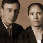 Николай с мамой, Клепиковой Татьяной Филипповной