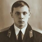 Александров Борис Леонидович, выпускная фотография. Борисоглебск, 1977 год