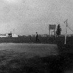 На территории аэродрома Староюрьево. 1975 год