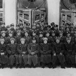 9 января 1951 г. Выпускники 1950 г/ с рук. составом училища