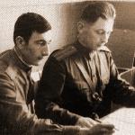 В штабе. Аэродром Кемь, 1967 год