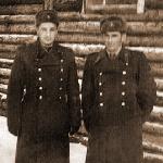 Староскольский Валентин и Вишняков Эдуард. Войницы, 1960 год