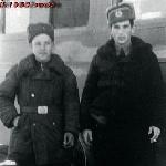 На боевом дежурстве с механиком. Город Красноводск, 7 марта 1957 года
