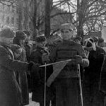 Лыжный кросс. Борисоглебск, 1949 год