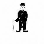 """С персональной страницы Демидова В.В.: """"...Увлечения: пение, игра на фортепиано, живопись маслом и акварелью, изготовление изделий декоративно-прикладного искусства из бересты и других материалов, и многое другое..."""" Кроме всего перечисленного Вадим Валерианович освоил компьютер. Примеры компьютерной графики: 1) Чаплин"""