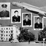 Группа старшего лейтенанта Моня В.В.: Бычков А.С., Ковалёв М.Е., Тигулёв В.И.