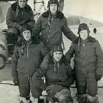 На газовке: Сологуб, Рахматулаев, Чурилов. На верху: Колосов, Чурилов