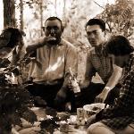 Встреча с колхозниками возле Чимкента