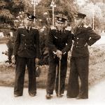 Осень 1954 г., Харьков. Феликс Веселов, Коля Чистяков и я