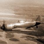 Лавочкин-9 в полёте