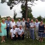 Бывшие Поставские лейтенанты на 40-летии выпуска 13 августа 2016 года