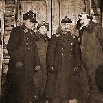 Клепиков Н.Ф. с представителями высшего командного состава