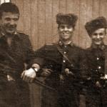 Первый курс. Ю. Пушик, П. Трубаев, С. Плотников, Ю. Маркушин