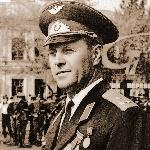 1971 год. Начальник штаба Борисоглебского ВВАУЛ полковник Демьяненко Дмитрий Иванович
