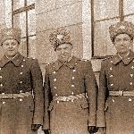 23.02.1971. Полковники Демьянеко Д.И., Петрухин П.М., Суворов В.П., Серов М.В.