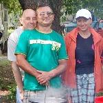 5 июля 2008 года. Отмечаем День рождения на природе под Киевом