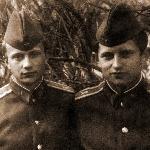Курсанты Михаил Шимков и Владимир Михалик