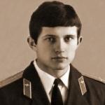Курсант/лейтенант Михалик В.Е. Фото из выпускного альбома