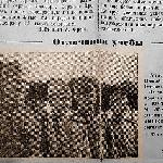 Фотография из газеты. Название и дата выпуска газеты неизвестны.