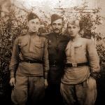 М.К. Архангельский. Фронтовая фотография. 1945 год, Бреслау (Польша)