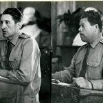 Командир 3 роты Куленич Н. А., командир батальона Расторгуев