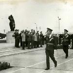 П. С.Кутахов с ветеранами и руководством училища