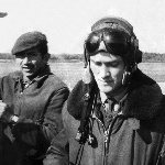 Механик .....?, старший лейтенант В. Синицын. Ряжск, 1974 год