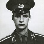 Курсант Абросимов Валерий Германович. Борисоглебск, 1972 год