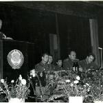 Начальник училища А. Н. Никонов (по-моему - парт-конференция)