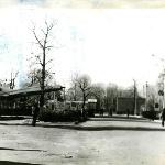Вид на КПП с территории училища