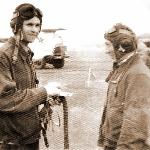 Аэродром Староюрьево, 1975 год. После первого самостоятельного полёта курсанта Листрового Ю.Н.