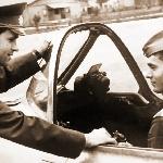 Тренаж в кабине самолёта с обучаемым курсантом