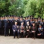 Фото с ветеранами полка