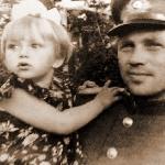 Ухоботин Пётр Иванович с дочерью Галей