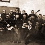 1939 год. Белогубцев Н.К. в нижнем ряду четвёртый слева