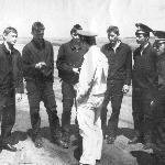Жердевка 1987 г, инструктаж звена перед полётами