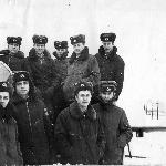 На газовке. Борисоглебск 2-ой курс, декабрь 1986 г.